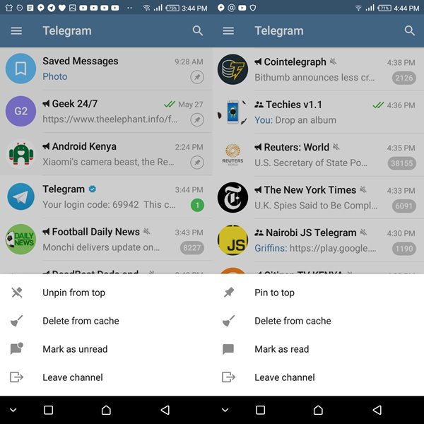 Latest Telegram update brings with it 7 useful features