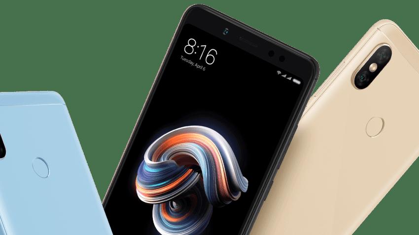 Redmi Note 5 AI Pie update