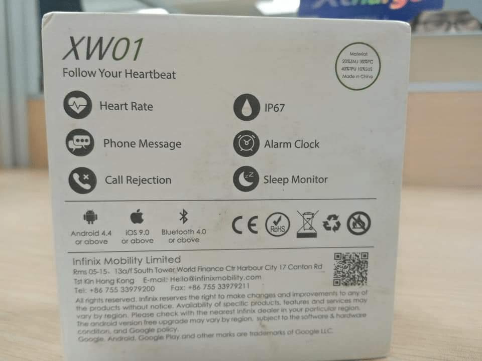 Infinix Smart Watch Green-10
