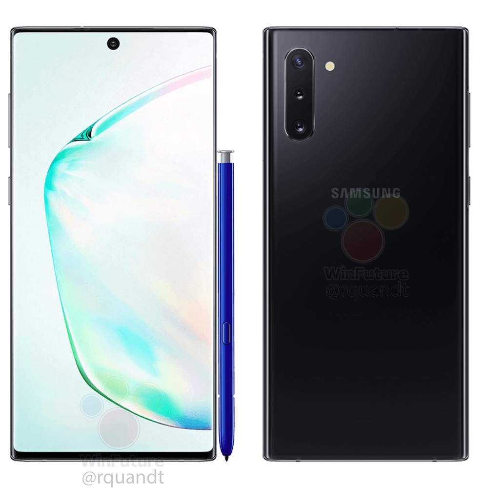Samsung Galaxy Note 10 price leak