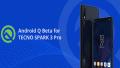 Tecno Spark 3 Pro Android Q beta
