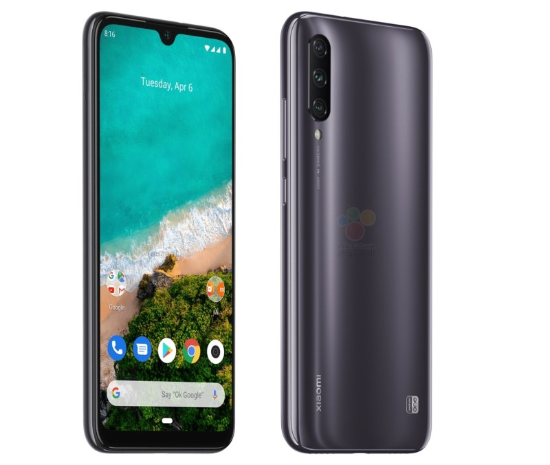 Xiaomi Mi A3 Android One leaked