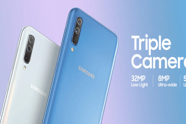 Samsung Galaxy A70 July update