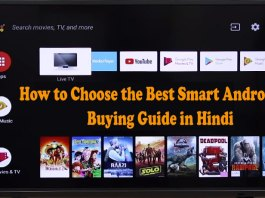 Best Smart Android TV Buying Guide in Hindi