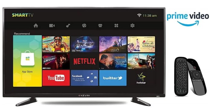 Kevin 102 cm (40 Inches) Full HD LED Smart TV KN40001A Best Smart TV Under 20000 Price