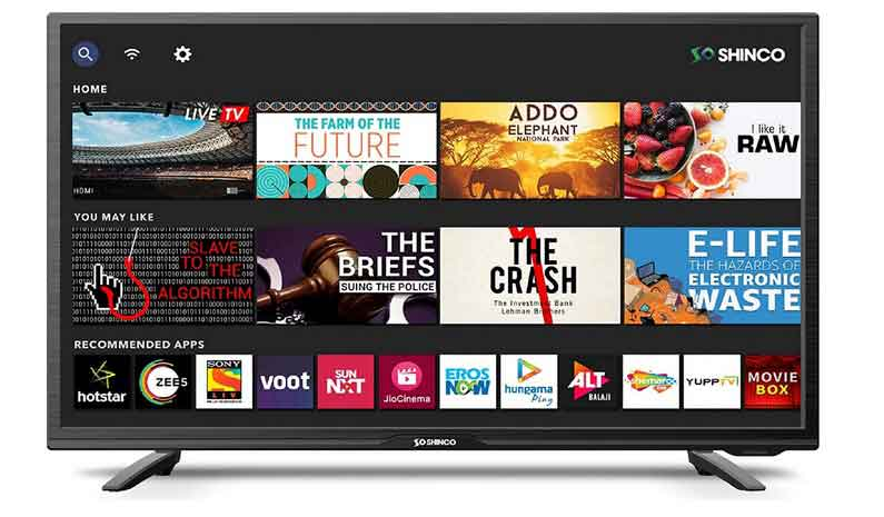 best Shinco 32 Inches HD Ready Smart LED TV