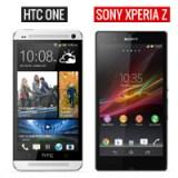 HTC One und Sony Xperia Z im direkten Vergleich