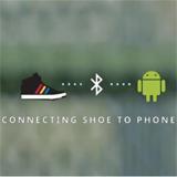 Google Talking Shoe: Interaktiver Schuh mit Smartphone-Anbindung