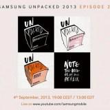 Samsung lädt offiziell zur Galaxy Note 3-Präsentation am 4. September