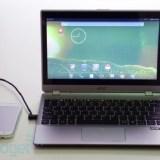 Acer Extend verwandelt Smartphone in ein Notebook