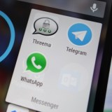 WhatsApp-Alternativen Threema und Telegram mit massivem Zuwachs