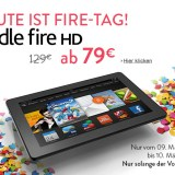 Deal: Amazon Kindle Fire HD heute für 80 Euro abstauben