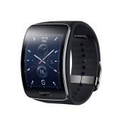 Samsung stellt erste abgerundete Smartwatch Gear S vor