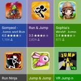 Fingerfreundliche und bunte App-Suche via Google Suche