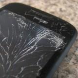 Der Beweis: Smartphones landen meistens auf dem Display