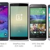 Kompakte Smartphones im Vergleich