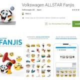 VW bringt eigene Emoji-App zur Fußball-EM
