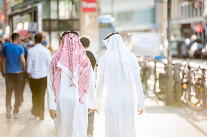 Araber fühlen sich in Städten mit dem Namen Zell am wohlsten (Foto: Shutterstock[Zurijeta])