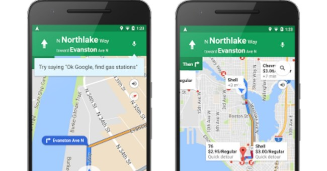 Google Maps New Update on