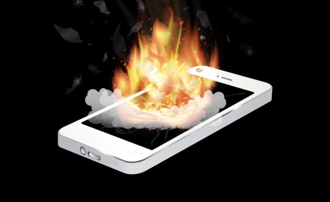 Schon weder fing ein Note 7 Feuer, diesmal angeblich ein neues (Foto: Shutterstock[siiixth])