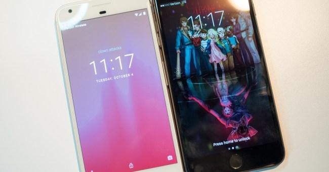 iPhoneVSPixel