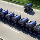 Konzept: Voll autonome Smart Cars für den intelligenten Straßenverkehr