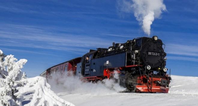 Jürgen Huettel_Train on Brocken