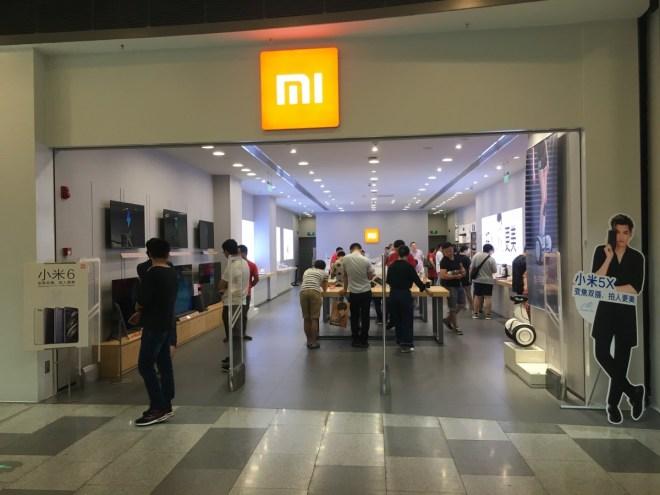 Xiaomi Mi Stores gibt es in Zukunft auch in Europa Bild: shutterstock