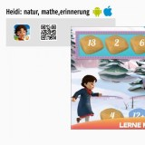 Die beste App für Kinder 2017 – Heidi: natur, mathe,erinnerung