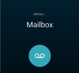 An zu mailbox geht schnell Android: Zeit