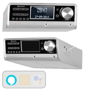 Auna Intelligence DAB + kitchen radio