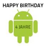 Happy Birthday: Android ist 4 Jahre alt