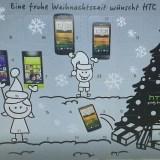 HTC verschickt Weihnachtskalender an Kunden