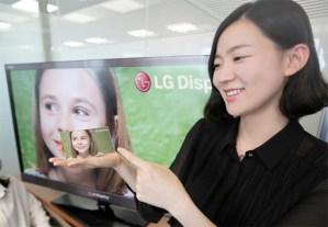 Das LG Display mit 440 ppi und Full HD Auflösung. Foto: LG.