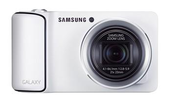 Die Samsung Kamera überzeugt durch einen 21-fachen Zoom, ein 4,77 Zoll großes Display sowie die neueste Android Version Jelly Bean.