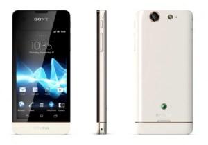 Sony Xperia SX in Weiß. Foto: Sony.