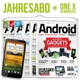 Android Magazin Abo extrem günstig + HTC One X gewinnen!