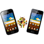 Galaxy Ace 2 und S Advance bekommen gleich Jelly Bean