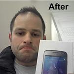 Erstes Galaxy Nexus fehlerhaft