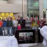 [Video] Der Weihnachtsmann ist ein Android-Fan