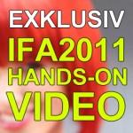 IFA 2011: Hands-On-Video zum Huawei Vision