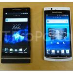 Sony Ericsson zeigt Bilder zu zwei neuen Smartphones