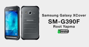 Samsung Galaxy XCover 4 (SM-G390F) Root Yapma