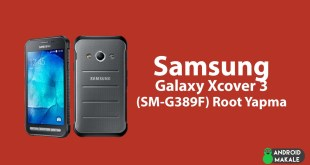 Samsung Galaxy Xcover 3 (SM-G389F) Root Yapma