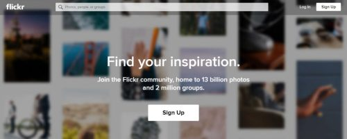 Best Search Engine for Images 2018: Flickr