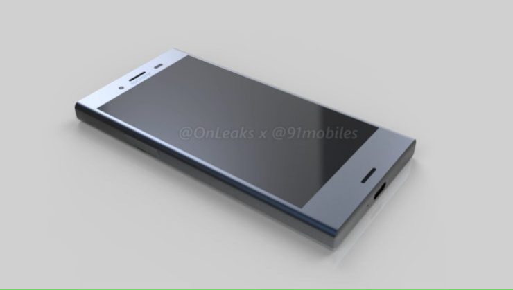 Sony's forthcoming Xperia XZ1 Compact leaked in 3D renders