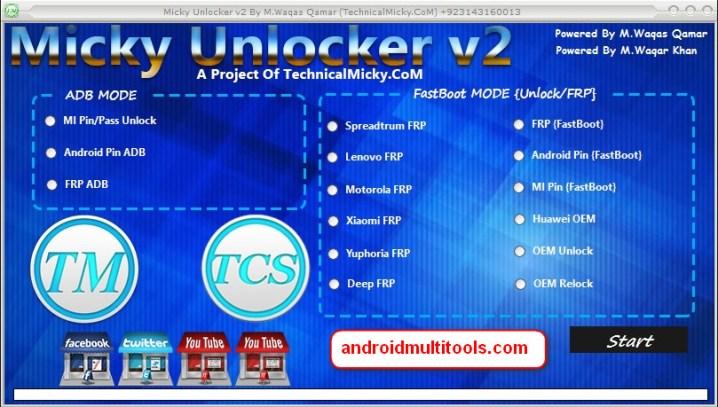 Micky Unlocker Tool