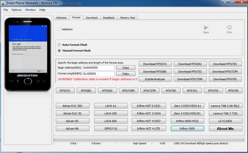MTK FRP Reset Tool