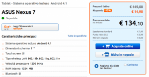 Asus Nexus 7 2012