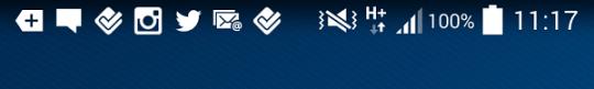 status bar android 4.4 kitkat